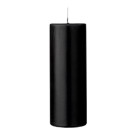 Bloomingville Steariinikynttilä Musta Parafiini 7x20cm