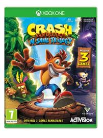 Crash Bandicoot N Sane Trilogy, Xbox One -peli