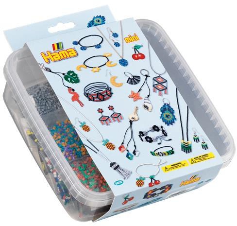 Hama Beads - Mini - Beads and Pegboards in Box (5403)