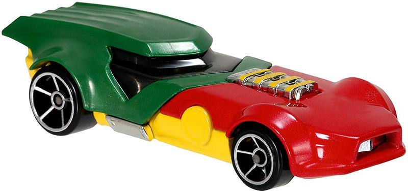 Hot Wheels - Entertainment Character Cars - Robin (DMM18)