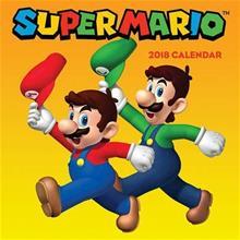 Super Mario (TM) 2018 Wall Calendar (Nintendo USA), kirja