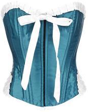 Burleska Maybow Overbust Korsetti sininen
