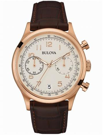 Bulova Men's Black Classic Watch 97B148 - LQ