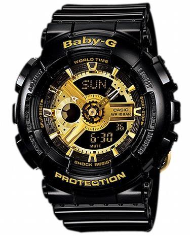 Casio Baby-G Black Wristwatch BA-110-1AER - LQ