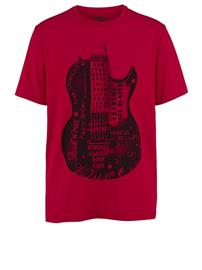 T-paita Men Plus punainen/musta07082/10X