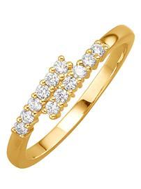 Naisten timanttisormus Diemer Diamant väritön38477/40X