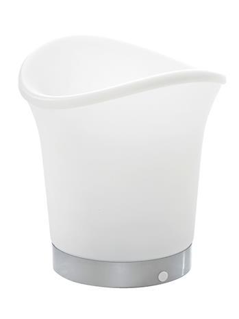 LED-juomajäähdytin MyHome valkoinen, eriväriset LED-valot86905/30X