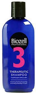 Terapeuttinen shampoo Biozell 200 ml