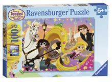 Disney Tangled Puzzle 100p ,