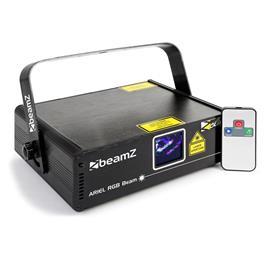 beamZ Ariel showlaser 350W RGB 9-DMX Master/Slave IR-kaukosäädin
