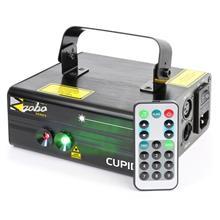beamZ Cupid tuplasäteilylaser 18 W RG 12-Gobo 6-DMX IR-kaukosäädin