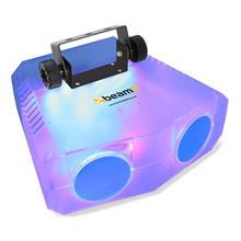 beamZ Nomia Clear tupla-Moonflower-valoefekti 114 RGBAW-LEDiä IR-kaukosäädin