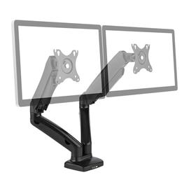 "auna LDT13-C024USB tuplamonitori-pöytäteline LED LCD 27"""" 2x6,5 kg"