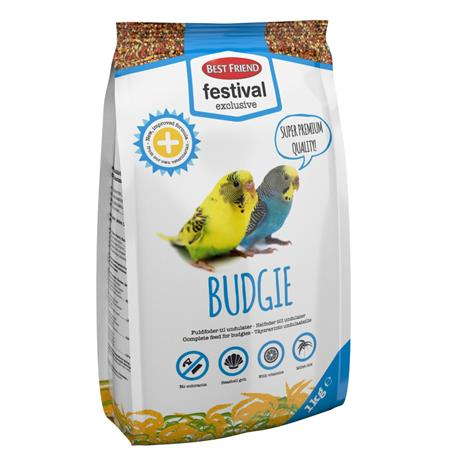 Best Friend Undulaatin ruoka 1kg Exclusive Budgie