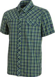 Mammut Asko Miehet lyhythihainen paita , vihreä/sininen