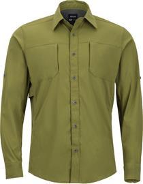 Marmot Trient Miehet pitkähihainen paita , oliivi