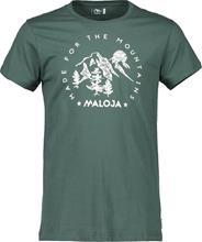 Maloja ZupoM. Miehet Lyhythihainen paita , vihreä