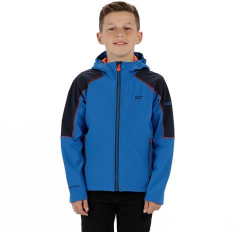 Regatta Acidity II Lapset takki , sininen/musta