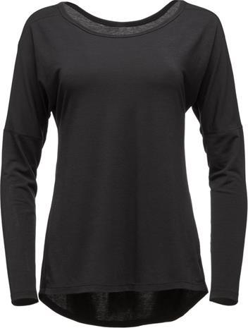 Black Diamond Gym Naiset Pitkähihainen paita , harmaa