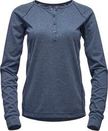 Black Diamond Attitude Naiset Pitkähihainen paita , sininen