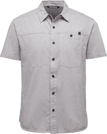 Black Diamond Chambray Modernist Miehet lyhythihainen paita , harmaa