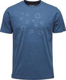 Black Diamond Hexteroid Miehet Lyhythihainen paita , sininen