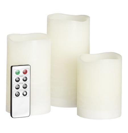 Kotikulta LED-Kynttilä 3 kpl