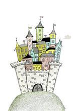 A Grape Design Castle poster