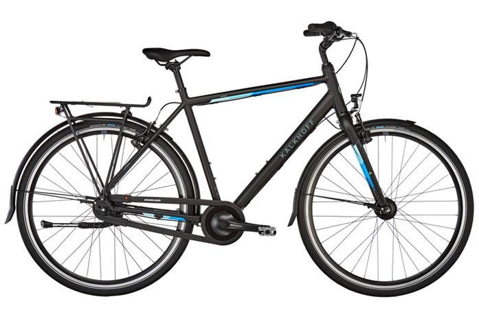 """Kalkhoff Durban 7 kaupunkipyörä 28"""""""" , musta"""