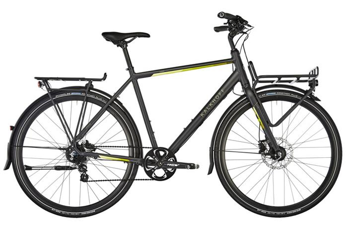 """Kalkhoff Durban 8 kaupunkipyörä 28"""""""" , sininen"""