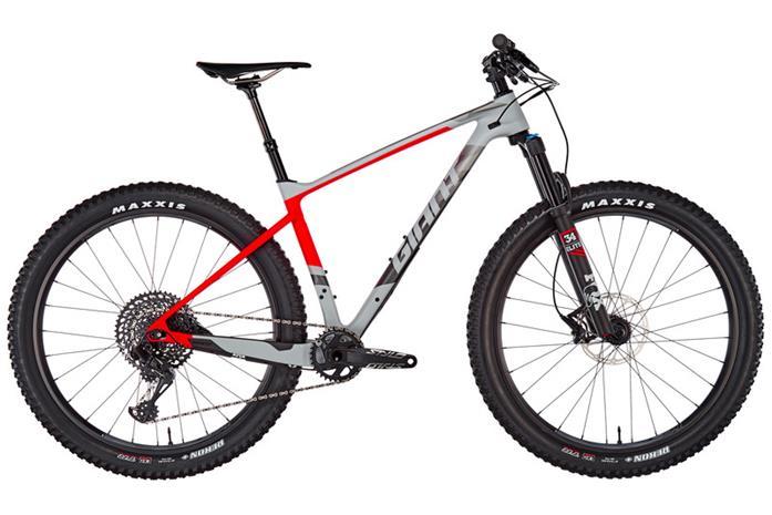 Giant XTC Advanced + 1 etujousitettu maastopyörä , harmaa