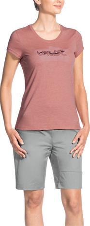 VAUDE Cyclist III Naiset t-paita , punainen