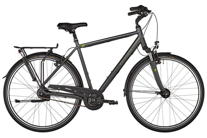 """Kalkhoff Agattu 8R kaupunkipyörä 28"""""""" , musta"""