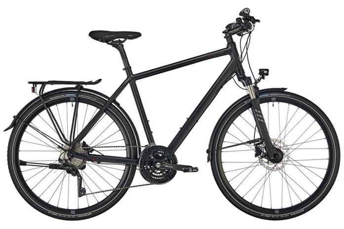 """Kalkhoff Endeavour 30 pyörä 28"""""""" , musta"""