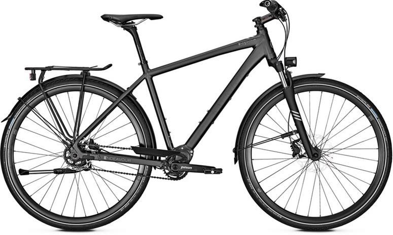 """Kalkhoff Endeavour P9 pyörä 28"""""""" , musta"""