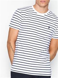 Polo Ralph Lauren Short Sleeve T-shirt T-paidat ja topit navy/white