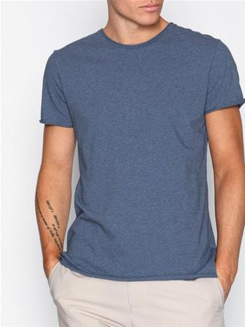Filippa K M. Roll Neck Melange Tee T-paidat ja topit Blue