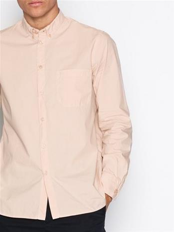Filippa K M. Peter Washed Poplin Shirt Kauluspaidat Dusty Pink