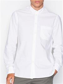 Filippa K M. Peter Washed Poplin Shirt Kauluspaidat White