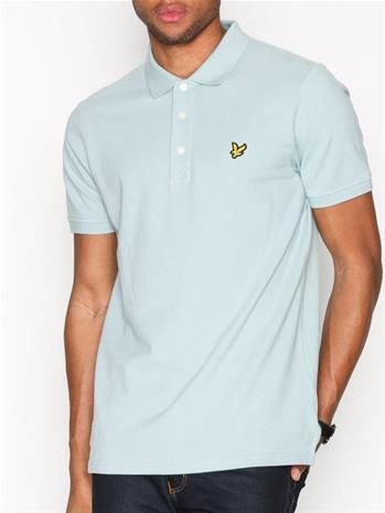 Lyle & Scott Plain Polo Shirt Pikeepaidat Powder Blue