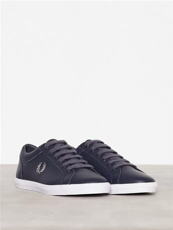 Fred Perry Baseline Leather Tennarit & kangaskengät Navy