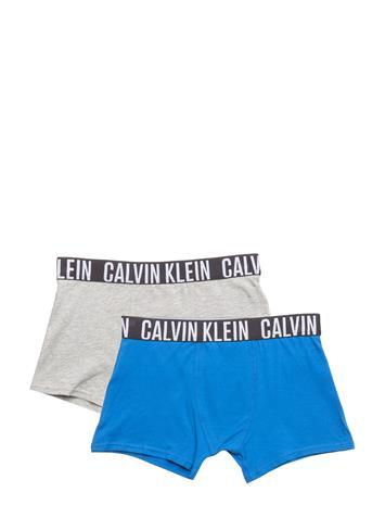 Calvin Klein 2 Pack Trunk, 485, 8 1 GREY HEATHER/ 1 SKYDIVER