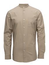 Selected Homme Shdtwocrisp-China Shirt Ls Solid CROCKERY