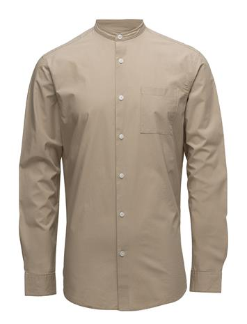 Selected Homme Shdtwocrisp-China Shirt Ls Solid CROCKERY