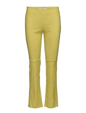 Mango Straight Seam Trousers BRIGHT YELLOW