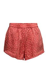 Rabens Saloner Dot Shorts POPPY RED