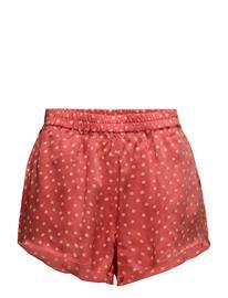 Rabens Saloner Dot Shorts POPPY RED