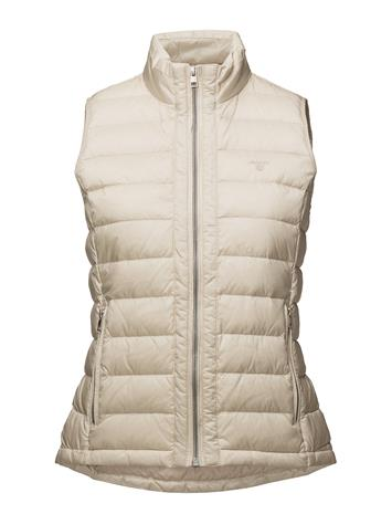 GANT O1. Light Weight Down Vest PUTTY