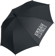 Urban Classics Umbrella Sateenvarjo musta