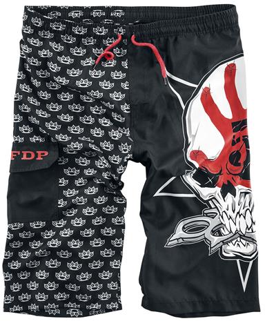 Five Finger Death Punch EMP Signature Collection Uimashortsit musta